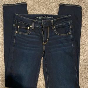 American Eagle stretch jeans dark wash